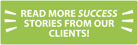 Read more success stories from our clients!